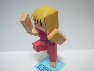 street-fighter-ken-papercraft-art-2