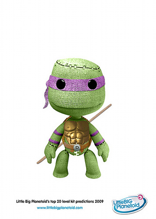 teenage mutant ninja turtle sackboy