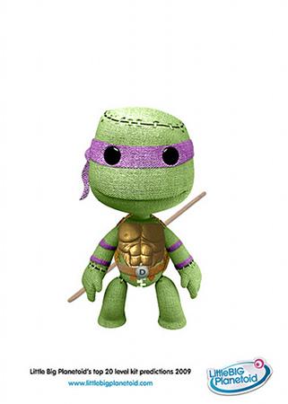 teenage mutant ninja turtle sackboy