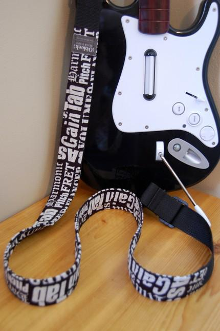 rock band guitar strap