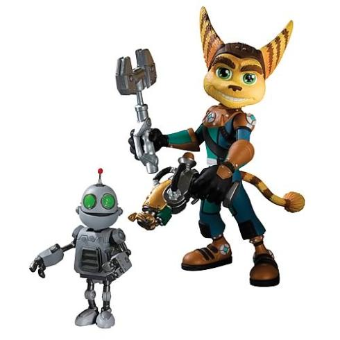 ratchet and clank action figures