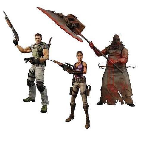 resident evil action figures