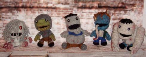 sackboy doll remake left 4 dead video game