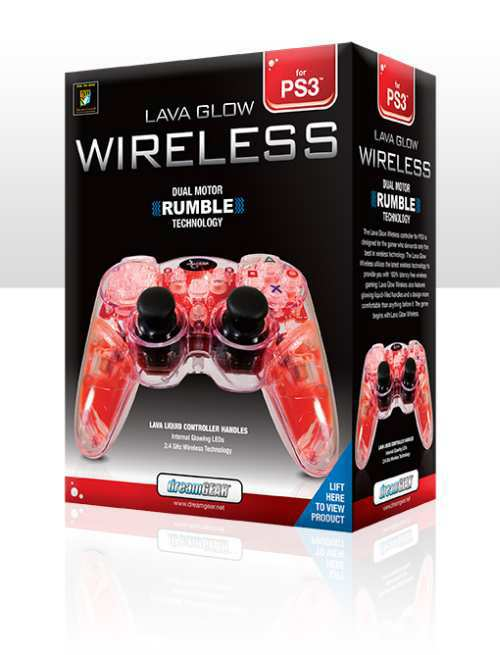 cool ps3 controllers red hot