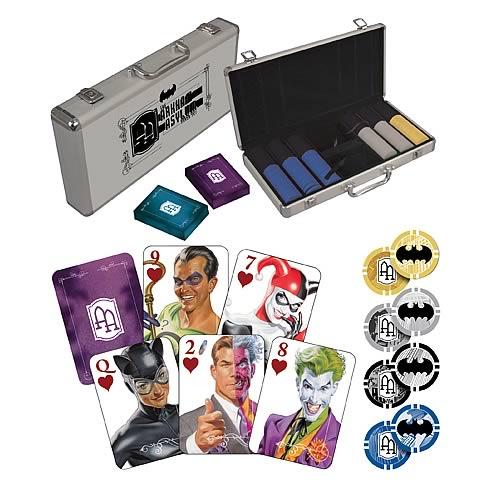 batman arkham asylum poker set