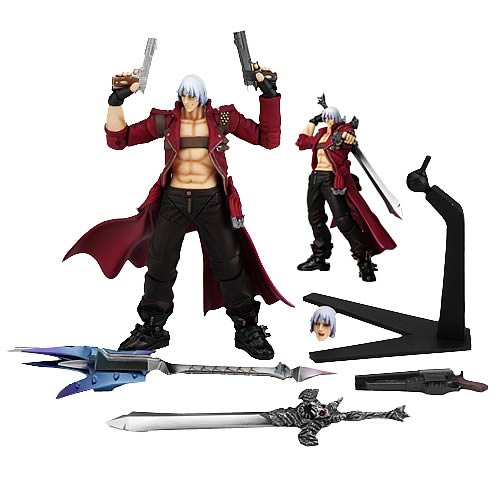 dante devil may cry action figure