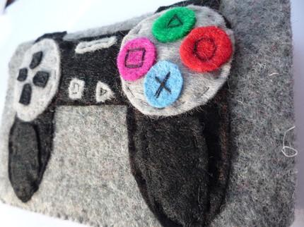 cool felt pouch ps3 controller