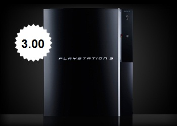ps3 firmware update  version 3.00