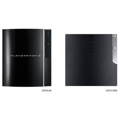 ps3 slim console similarities