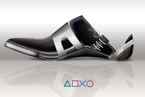 PS3 Themed Shoe Pulls Off A Fast One2