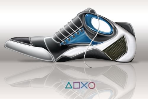 PS3 Themed Shoe Pulls Off A Fast One1