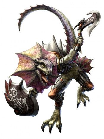 soul calibur lizardman ps3 moves