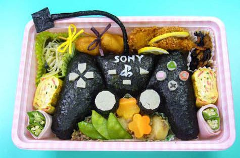 new ps3 controller bento lunch
