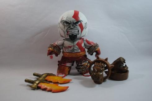 kratos god of war mighty mugg