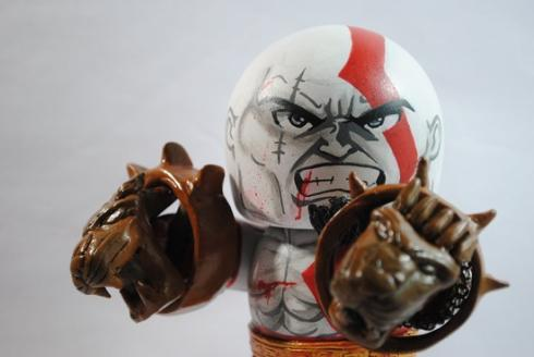 kratos mighty mugg action figure