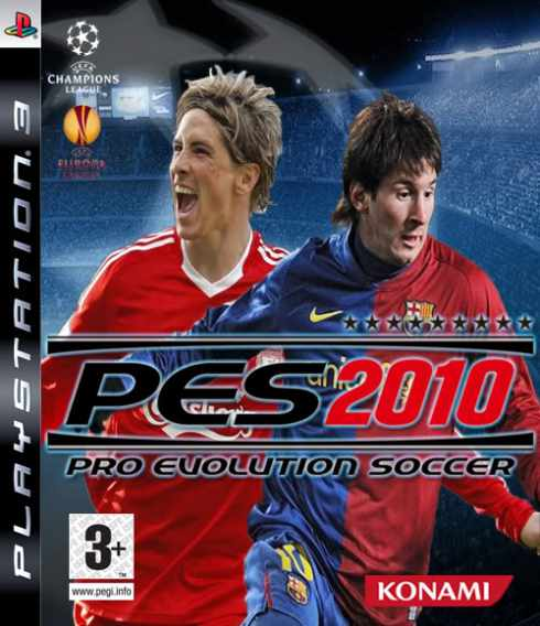 pes 2010 pro evolution soccer ps3 game