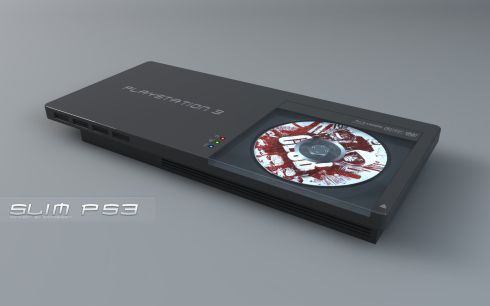 cool ps3 slim concept design