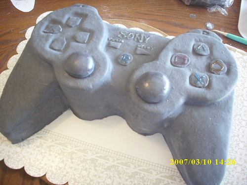 ps3 controllers cake