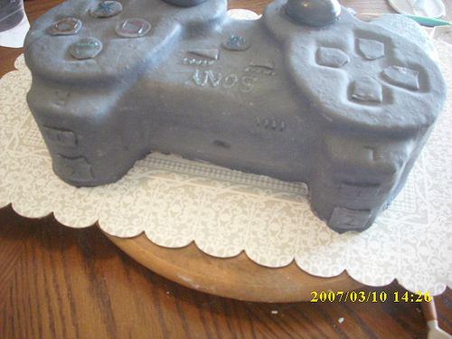 ps3 controller cake design