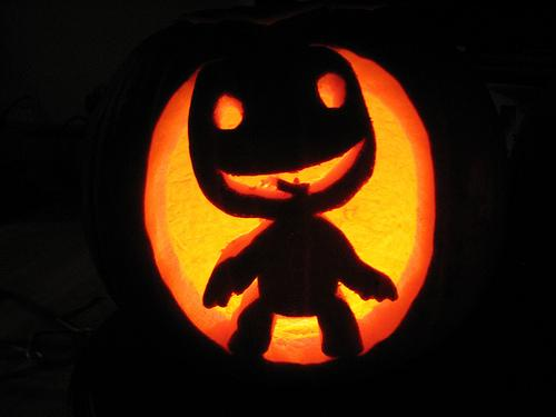 cool sackboy pumpkin