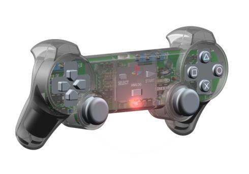 ps3 controller 3D CAD renders