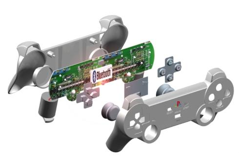 ps3 controller 3D bluetooth