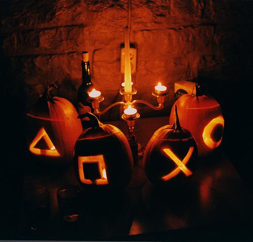 ps3 controller buttons pumpkin