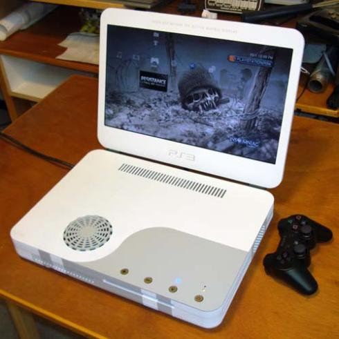 ps3 slim mod laptop