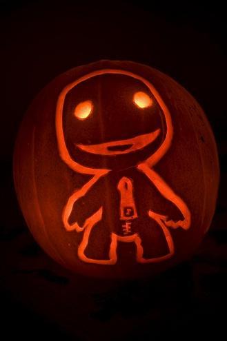 sackboy costume pumpkin