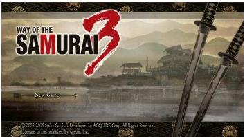 way of samurai 3 screenshot