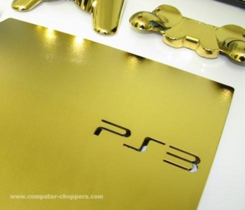 gold ps3 slim