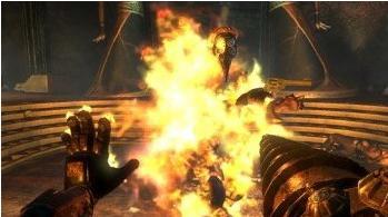 bioshock 2 fire