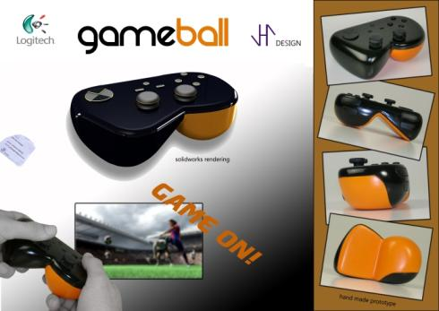 gameball ps3 controller