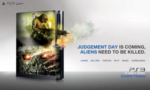 ps3 ad campaign aliens