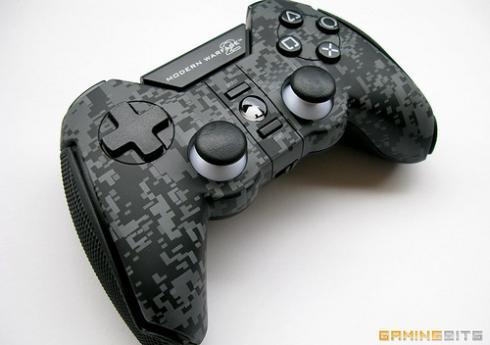 ps3 call of duty cool controller front