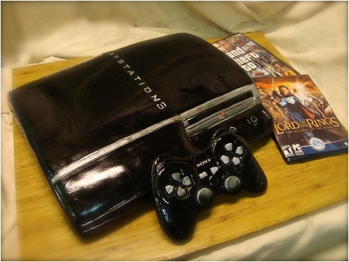 Tempting PS3 Cake