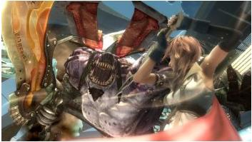 final fantasy xiii action