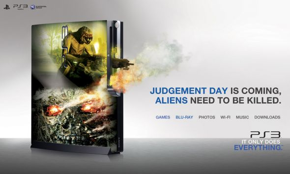 judgement day ps3 ad campaign