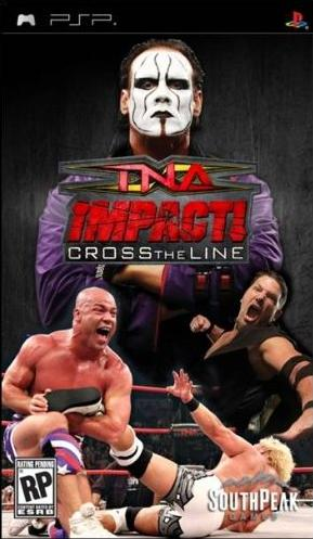 TNA IMPACT CROSS THE LINE  Tna