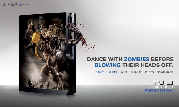 zombie ps3 ad campaign