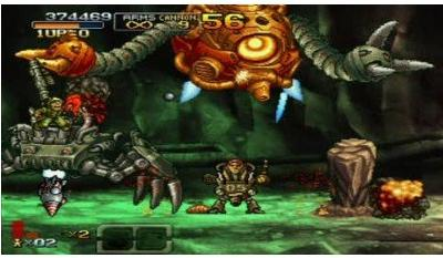 metal slug xx action