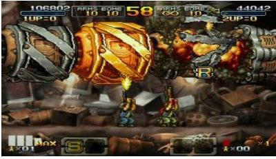 metal slug xx weapon