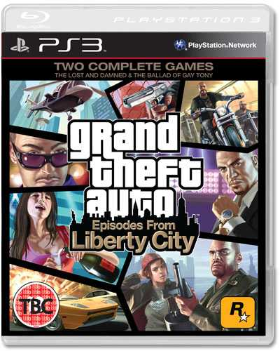 Grand Theft Auto Episodes from Liberty City Game 1