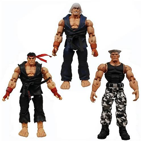 Street fighter Action figures