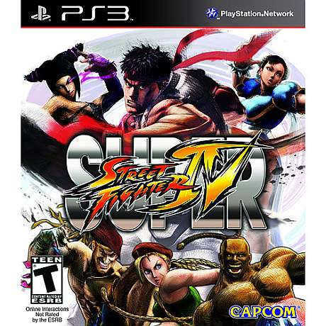 The Street Fighter 4 Game