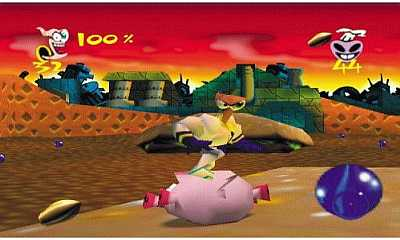 Earthworm Jim 3D Game 3