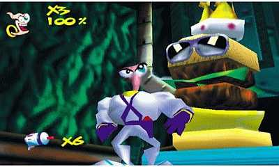 Earthworm Jim 3D Game 5