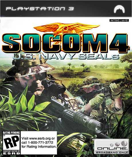 SOCOM 4 US SEALs Playstation 3