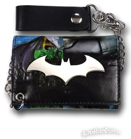 batman leather wallet