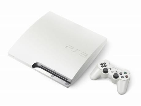 ps3 hdd white